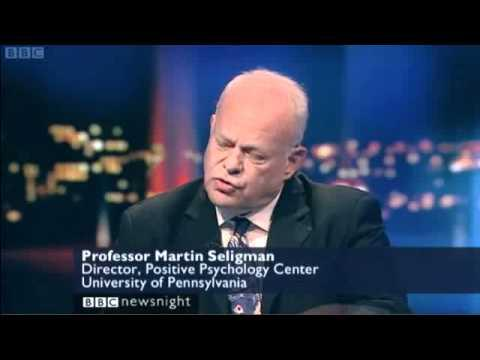 Martin Seligman on Newsnight